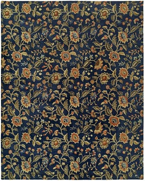 Allara New Delhi DE-1000 Chateau Indigo Closeout Area Rug