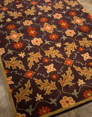 Jaipur Passages PG04 Liam Coffee/Bronze Green Closeout Area Rug
