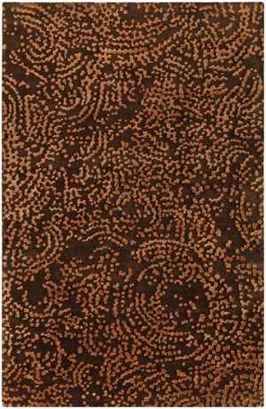 Designer Series DS040036 Chocolate/Brown Spreckles Closeout Rug