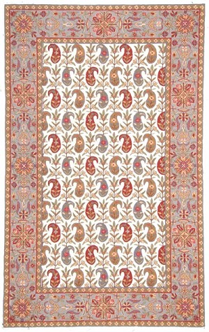Marcella Savoy SVY534B Paisley Ivory Closeout Area Rug
