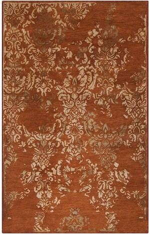 Surya Banshee Ban 3332 Rust Red Wheat Mossy Gold Closeout