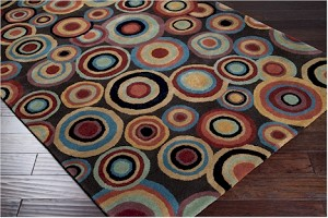 Designer Series DS040032 Brown Dazzle Rug