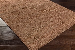 Surya Galloway GLO-1006 Burgundy/Ivory/Chocolate Area Rug