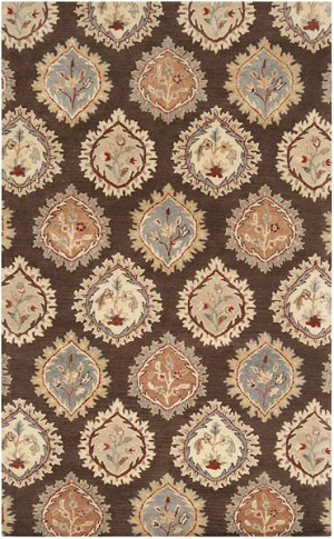 Surya Langley LAG-1012 Chocolate/Gold/Adobe Closeout Area Rug - Fall 2014