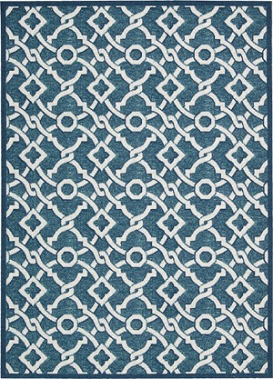 Nourison Waverly Treasures WTR01 Blue Jay Area Rug