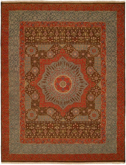 Designer Series DS040021 Isla Medallion Rug