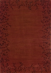 Oriental Weavers Allure 004C1 Red Closeout Area Rug