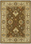 Couristan Woven Treasures 0068/0313 Kashan Mocha/Ivory Closeout Area Rug