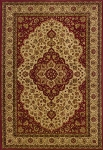 Oriental Weavers Allure 011D1 Red/Beige Closeout Area Rug
