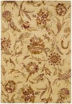 Couristan Givenry 0159/0132 Wild Orchids Ivory Closeout Area Rug