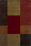 Oriental Weavers Allure 015A1 Red/Multi Closeout Area Rug