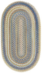 Capel American Legacy 0210-410 Natural Blue Area Rug