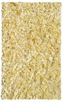 Rug Market Kids Shag 02205 Shaggy Raggy Yellow Area Rug