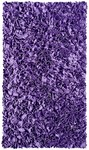 Rug Market Kids Shag 02224 Shaggy Raggy Purple Area Rug