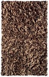 Rug Market Kids Shag 02235 Shaggy Raggy Brown Area Rug