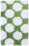 Rug Market Kids 02264 Polkamania Lime/White Area Rug