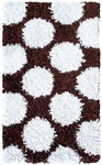 Rug Market Kids 02267 Polkamania Brown/White Area Rug