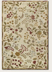Couristan Eden 0230/0030 Summer Vines Ivory/Ruby Closeout Area Rug - Spring 2013