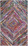Rug Market Kids Tween 03617 Antro Diamond Purple Multi Area Rug