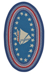 Capel Hyport 0383-430 Sailboat Colonial Area Rug
