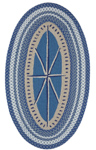 Capel Hyport 0384-450 Compass Marina Area Rug
