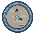 Capel Hyport 0385-450 Lighthouse Marina Area Rug