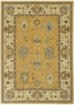 Couristan Woven Treasures 0423/0013 Karabagh Amber/Ivory Closeout Area Rug
