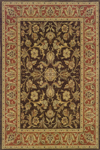 Oriental Weavers Nadira 042A2 Brown/Rust Closeout Area Rug