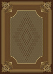 United Weavers China Garden 050 11051 Stafford Chocolate Closeout Area Rug