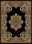United Weavers China Garden 050 11470 Chinese Abusson Black Closeout Area Rug