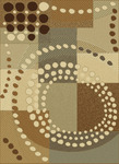 United Weavers China Garden 050 29317 Urban Compass Multi Closeout Area Rug
