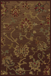 Oriental Weavers Allure 054C1 Brown Closeout Area Rug