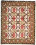 Peel & Company Needlepoint 1064 English Gothic Closeout Area Rug