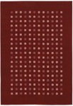Couristan South Beach 1076/0005 Deep Ruby Closeout Area Rug - Spring 2010