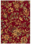Oriental Weavers Infinity 1105B Red Closeout Area Rug
