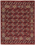 Capel Estate 1112-575 Treasure Dark Red Area Rug