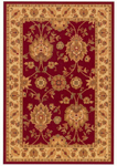 Oriental Weavers Infinity 1124E Red/Beige Closeout Area Rug