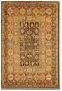 Couristan Lahore 1164/0179 Marasali Brown Rust Closeout Area Rug - Spring 2015