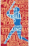 Rug Market Kids Sporty 11787 Batter Up! Red/Blue Area Rug