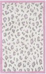 Rug Market Kids Safari 12387 Cheatico Pink Cream/Grey/Pink Area Rug
