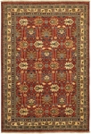 Couristan Lahore 1266/2466 Antique Kazak Reddish Clay Closeout Area Rug - Spring 2015
