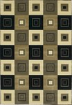 Couristan Everest 1285/9577 Cubics New Khaki Closeout Area Rug - Spring 2011
