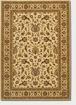 Couristan Royal Luxury 1323/0001 Brentwood Linen/Beige Closeout Area Rug - Spring 2016