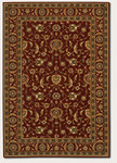 Couristan Royal Luxury 1323/0002 Brentwood Bordeaux Closeout Area Rug - Spring 2016