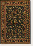 Couristan Royal Luxury 1323/0003 Brentwood Ebony Closeout Area Rug - Spring 2016