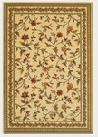 Couristan Royal Luxury 1327/0001 Winslow Linen/Beige Closeout Area Rug - Spring 2016
