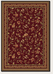 Couristan Royal Luxury 1327/0002 Winslow Bordeaux Closeout Area Rug - Spring 2016