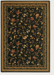 Couristan Royal Luxury 1327/0003 Winslow Ebony Closeout Area Rug - Spring 2016
