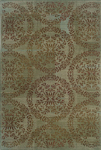 Oriental Weavers Nadira 1330L Blue/Brown Closeout Area Rug