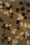 Oriental Weavers Nadira 1334N Brown/Black Closeout Area Rug